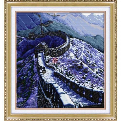 Wielki Mur w zimie