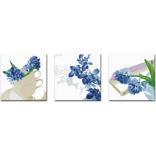 Tryptyk niebieski