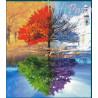 Cztery pory roku -drzewo