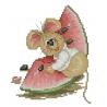 Mysz z arbuzem 2