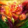 Zestaw do diamond painting - Róża