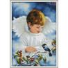Zestaw do diamond painting - chłopiec śliczny aniołeczek