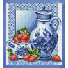 Zestaw do diamond painting - niebieski dzban