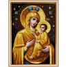 Zestaw do diamond painting - Maryja z dzieciątkiem ikona