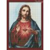 Zestaw do diamond painting - Najświętsze serce Jezusa