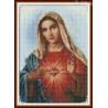 Zestaw do diamond painting - Najświętsze serce Maryii