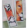 Zestaw zakładka do książki - dzikie zwierzęta
