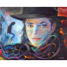 Zestaw do diamond painting - Michael Jackson