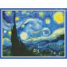 Zestaw do diamond painting -Gwiaździsta noc Van Gogha