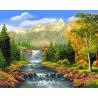 Zestaw do diamond painting - W górach