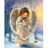 Zestaw do diamond painting -  aniołeczek