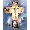 Zestaw do diamond painting -  życie Jezusa