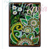 Zestaw do diamond painting - notes zielony