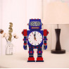 Zestaw do diamond painting - zegar robot