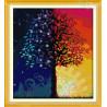 Zestaw do diamond painting - Drzewo