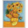 Zestaw do diamond painting - Słoneczniki Van Gogh