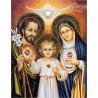 Zestaw do diamond painting -święta rodzina