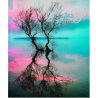 Zestaw do diamond painting - drzewa