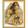 Zestaw do diamond painting - Modlący się Jezus