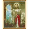 Zestaw do diamond painting - Otwórzcie drzwi Jezusowi