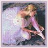Zestaw do diamond painting -Urok baletnicy