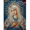 Zestaw do diamond painting - Niebieska ikona