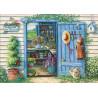 Zestaw do diamond painting -Niebieskie drzwi