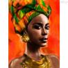 Zestaw do diamond painting -Afrykanka