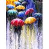 Zestaw do diamond painting - kolorowe parasolki