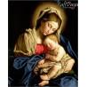 Zestaw do diamond painting - Matka Boska z Dzieciątkiem