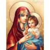 Zestaw do diamond painting - Najświętsza Maryja Panna z Dzieciątkiem