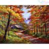 Malowanie po numerach - jesień