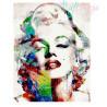 Malowanie po numerach - Marilyn Monroe