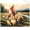Malowanie po numerach - Dobry Pasterz