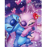 Zestaw do diamond painting - Lilo i Stich