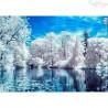 Zestaw do diamond painting -Cudowna zima