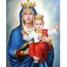 Zestaw do diamond painting - Maryja z dzieciątkiem