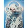 Zestaw do diamond painting - Kobieta z orłami