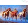 Malowanie po numerach - Biegnące konie