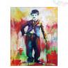 Malowanie po numerach - Charlie Chaplin
