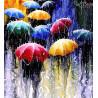 Zestaw do diamond painting - Pod parasolem