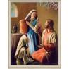 Maria i Marta z Jezusem