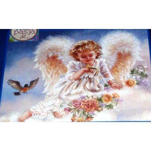 Aniołek w chmurach