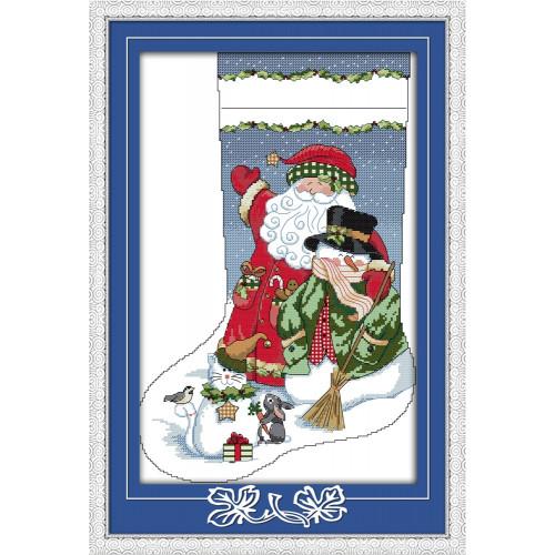 Świąteczna skarpeta  2