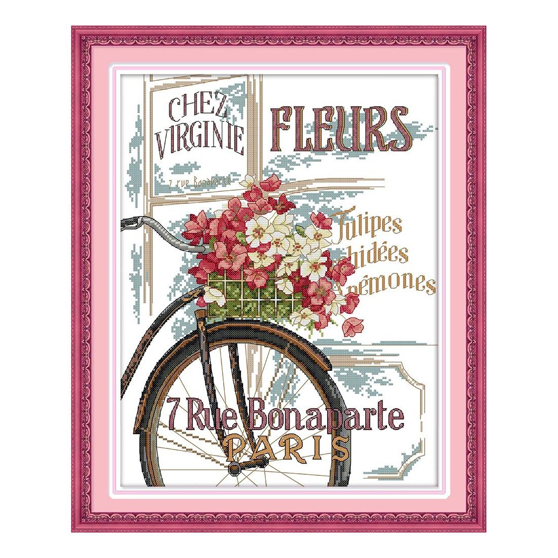 Chłodny Kwiaty i rower AD84