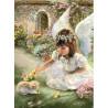 Aniołek z kotkiem