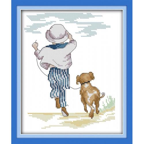 Chłopiec i jego pies