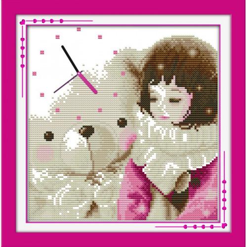 Dziewczynka i miś