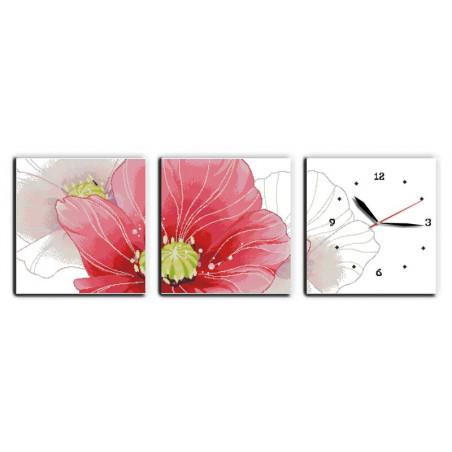Kwiatowy zegar