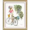 DZiewczyna z rowerem